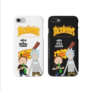 Rick Morty Thrasher Backwoods iPhone Case